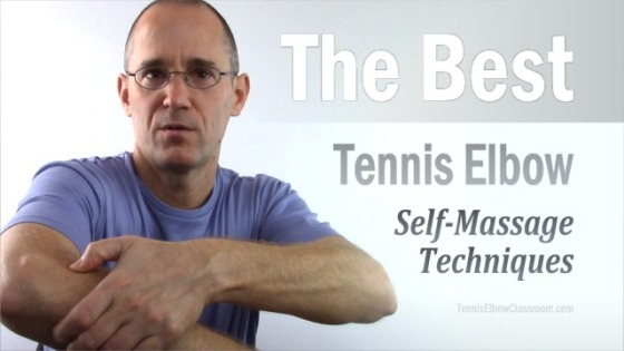 What Are The Best Self Massage Techniques For Tennis Elbow